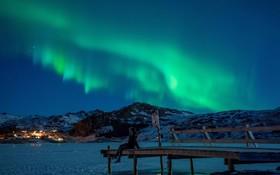 شفق قطبی در نروژ