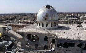منطقه ای در دمشق سوریه