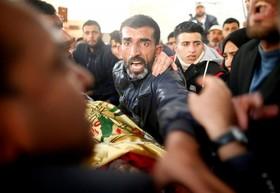 تشییع جنازه محمد ابو جامع کشاورزی که در خان یونس به دست نظامیان اشغالگر کشته شد