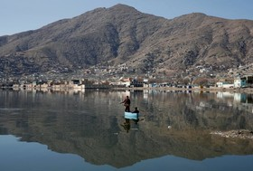 دریاچه ای در کابل