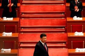 شی لی پنگ در جلسه مجمع عمومی حزب کمونیست چین