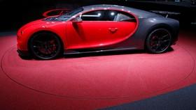 عکس هایی از نمایشگاه خودرو ژنو:بوگاتی چیرون