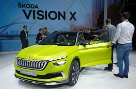 عکس هایی از نمایشگاه خودرو ژنو:اشکودا مدل ویژیون ایکس