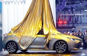 عکس هایی از نمایشگاه خودرو ژنو:تویوتای جدید آیریس که هیبریدی است