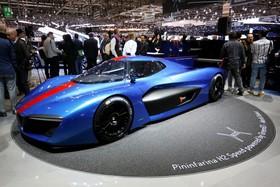 عکس هایی از نمایشگاه خودرو ژنو:خودرو پینین فاریندا