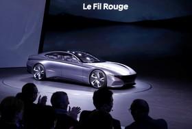 عکس هایی از نمایشگاه خودرو ژنو:خودرو هیوندای مدل لافیل روژ