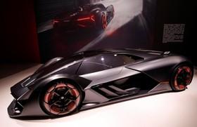 عکس هایی از نمایشگاه خودرو ژنو:لامبورگینی مدل ترزو میلنیو که هنوز تولید نشده است