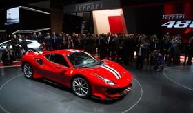عکس هایی از نمایشگاه خودرو ژنو:فراری 488 پیستا
