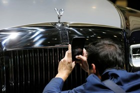عکس هایی از نمایشگاه خودرو ژنو:رولزرویس