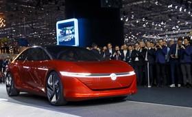 عکس هایی از نمایشگاه خودرو ژنو:فولکس ای دی ویژن