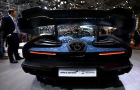 عکس هایی از نمایشگاه خودرو ژنو:مک لارن مدل سنا پی 15