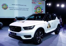 عکس هایی از نمایشگاه خودرو ژنو:ولوو ایکس سی چهل که خودرو سال اروپا شده است