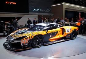عکس هایی از نمایشگاه خودرو ژنو:مک لارن سنا جی تی آر