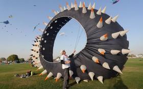 جشنواره بادبادک بازی در قطر