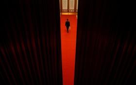 صحنه ای از مجمع عمومی حزب کمونیست چین در پکن