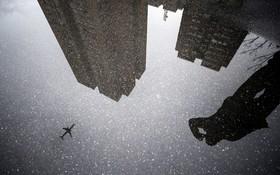 یک روز بارانی در استانبول ترکیه