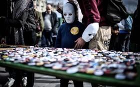 گردهمایی یادبود کشته شدگان در حادثه فوکوشیما در ژاپن