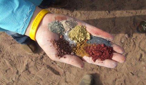 جزیره خاکهای رنگین را بیشتر بشناسید؟