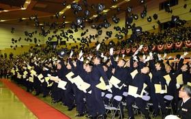 مراسم فارغ التحصیلی نیروهای نظامی در ژاپن