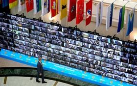 ستاد انتخابات روسیه در مسکو