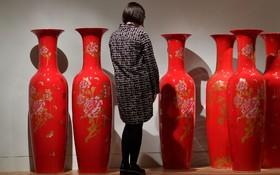 نمایشگاه سرامیک چینی در انگلیس
