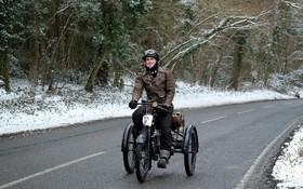 مسابقه موتورهای قدیمی در انگلیس