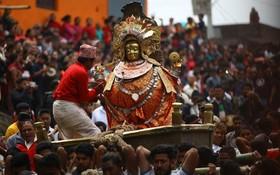 مراسم مذهبی هندوهای نپال در کاتماندو