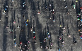 مسابقه دوماراتن در پاریس فرانسه