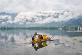 دریاچه دال در کشمیر هند