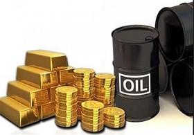قیمت نفت و طلا