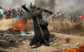 تظاهرات فلسطینی ها علیه اشغالگران صهیونیست در نوارغزه