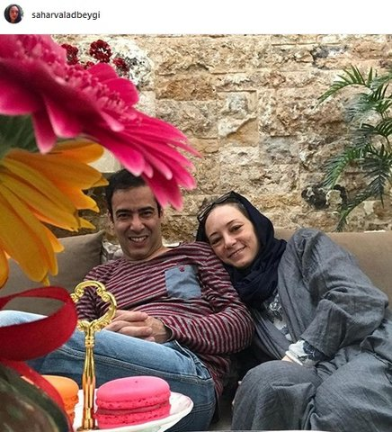 زوج محبوب و همیشه خندان سینمای ایران+ عکس