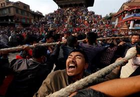 مراسم مذهبی بودایی ها در نپال