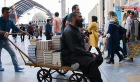 دهمین روز سی و یکمین نمایشگاه بینالمللی کتاب تهران. (امین آهویی/فارس)