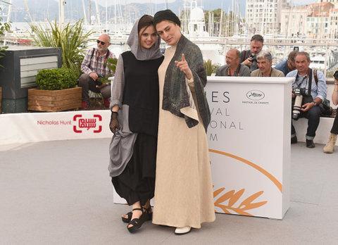 پوشش متفاوت دو بازیگر ایرانی در جشنواره «کن» +عکس