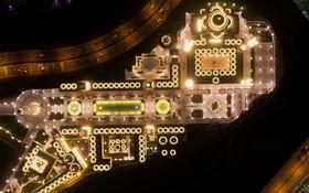 تصویری از مجموعه فرهنگی تجاری و مسجدی که در آنکارای ترکیه ساخته شده است با 125 هزار مترمربع مساحت