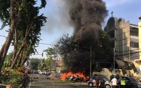انفجار در شرق جاوه در اندونزی