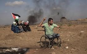 تظاهرات فلسطینی ها علیه انتقال سفارت آمریکا