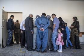 رای گیری در اربیل عراق