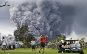 ادامه آتش فشان در هاوایی آمریکا