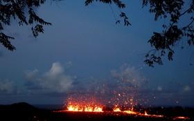 آتش فشان در هاوایی آمریکا