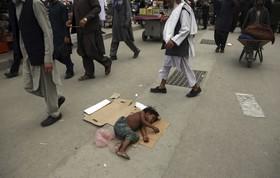 خیابانی در کابل افغانستان