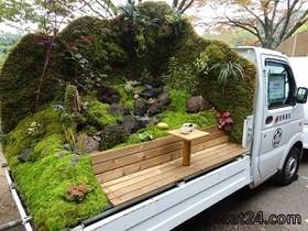 مسابقه کامیونهای باری که جنگل شده اند