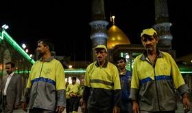 ویژه برنامه با رهروان سحر در حرم حضرت عبدالعظیم(ع)