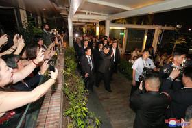 بازدید شبانه رهبر کره شمالی از اماکن دیدنی و جاذبههای گردشگری سنگاپور