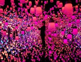 موزه هنرهای دیجیتال توکیو.