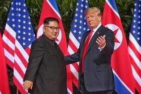 دیدار دونالد ترامپ و کیم جونگ اون در سنگاپور و امضای توافق تاریخی خلع سلاح هسته ای پیونگ یانگ