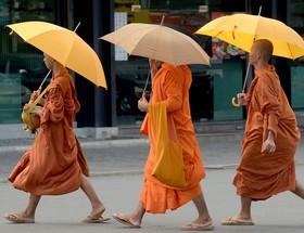 راهبان بودایی کامبوج