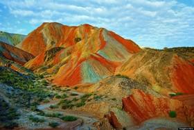 کوه های شگفت انگیز رنگارنگ در چین را ببینید+تصاویر