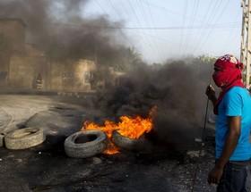 اعتراض به افزایش قیمت سوخت در پرینس، هائیتی